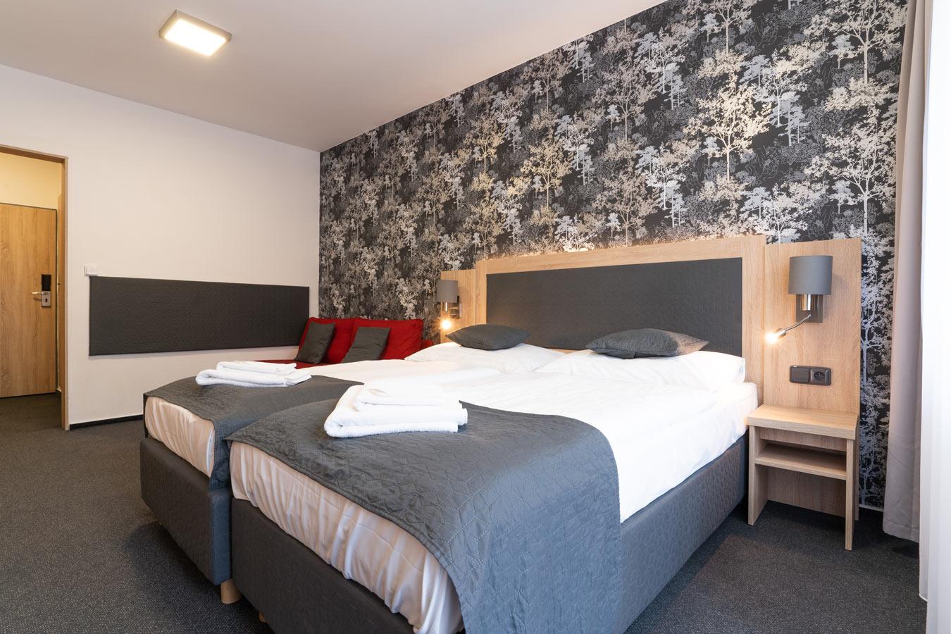 Comfort v hotelu Kamzík