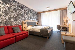 Pokoje Comfort v hotelu Kamzík